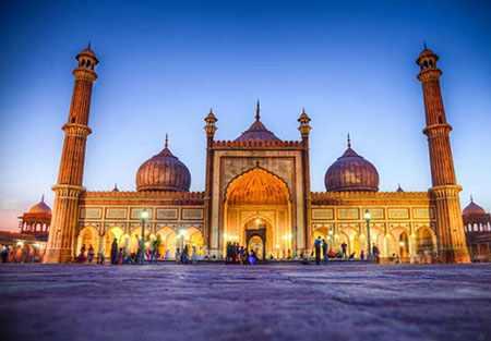 image تصاویر و توضیحات خواندنی درباره مسجد جامع دهلی هند