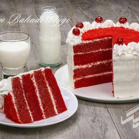 image, آموزش درست کردن کیک مخملی قرمز برای روزهای خاص