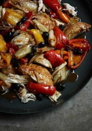 عکس, آموزش درست کردن مرغ به سبک ایتالیایی ها