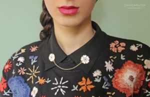 image ایده های جالب و زیبا برای تزیین یقه لباس های زنانه