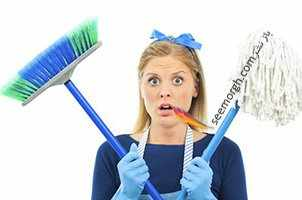 image آموزش پاک کردن لکه روغن و زنگ زدگی و هر لکه دیگر از روی سطوح