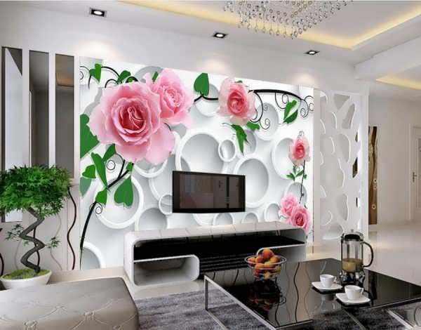 image, با این ایده های جالب و تصویری دیوار پشت تلویزیون را دکور کنید
