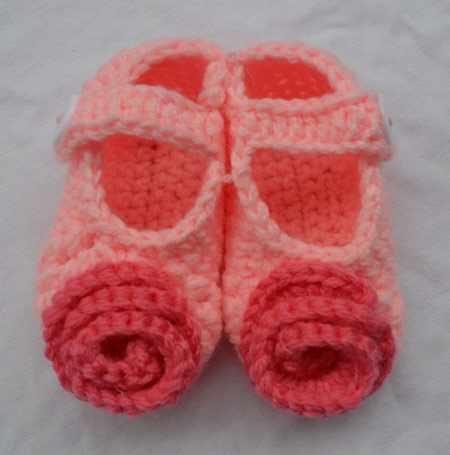 image, مدل های بافتنی شیک پاپوش برای نوزاد