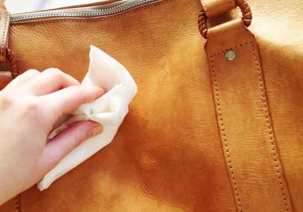 image راه های تمیز نگهداشتن کیف های چرمی