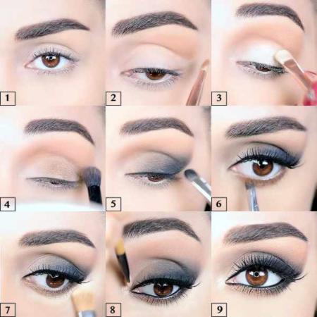 image آموزش فوق العاده حرفه ای آرایش چشم در ۹ مرحله