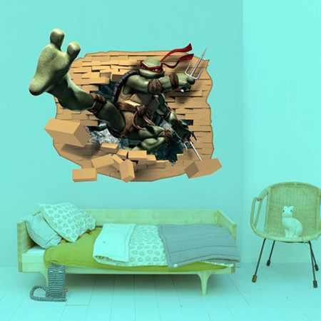 image ایده های تصویری استفاده از استکیر دیواری برای زیبایی خانه