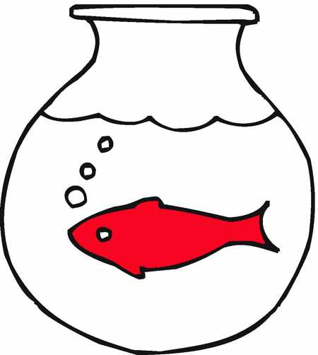 image, ایده های نقاشی کودکانه نوروزی با موضوع تنگ و ماهی