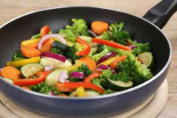 image بهترین راه برای پخت سبزجات به مدل های مختلف