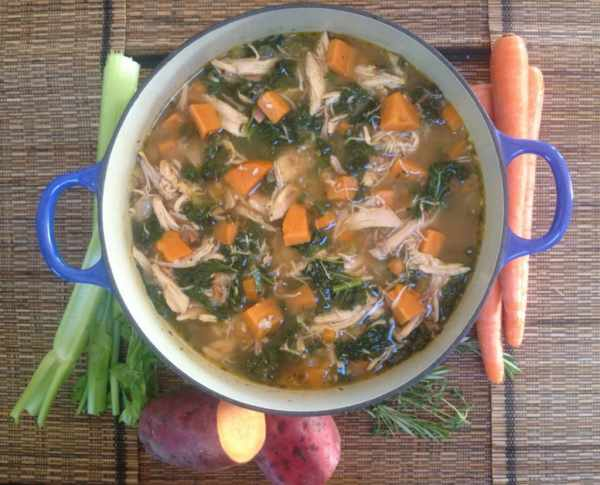 عکس, چطور یک سوپ مقوی و انرژی ها درست کنید
