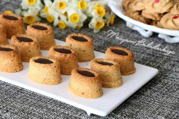 image آموزش درست کردن شیرینی مخصوص عید اسکوار گردویی
