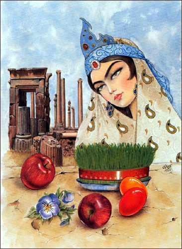 image متن های زیبا و جدید تبریک عید و سال نو به زبان عربی