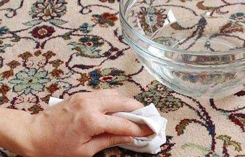 image ترفندهای واقعی خانه داری برای پاک کردن لکه های فرش
