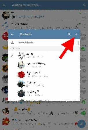image چطور یک شماره را فقط در مخاطبین تلگرام ذخیره کنید نه در گوشی