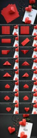 image آموزش عکس به عکس ساخت و تزیین جعبه های هدیه