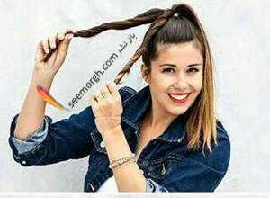 image چطور موهای بلند خود را برای مهمانی مجلسی در چند دقیقه درست کنید