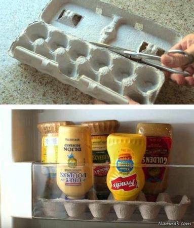image ترفندهای جالب خانه داری در آشپزخانه برای خانم های با سلیقه