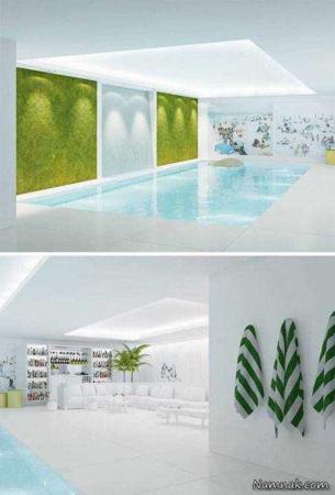 image, عکس از استخرهای شیک با طراحی مدرن