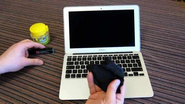 image آموزش تمیز کردن لپ تاپ بدون خراب شدن آن