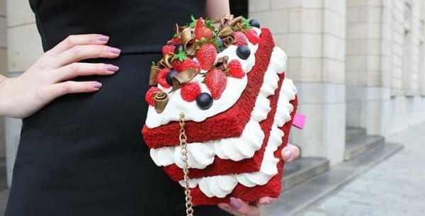 image, عکس های دیدنی از مدل های کیف دستی زنانه شکل خوراکی و کیک