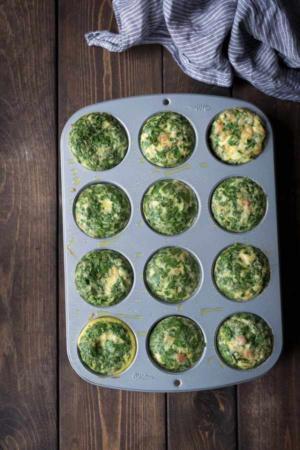 image آموزش پخت تصویری مافین تخم مرغ عصرانه مقوی برای بچه ها