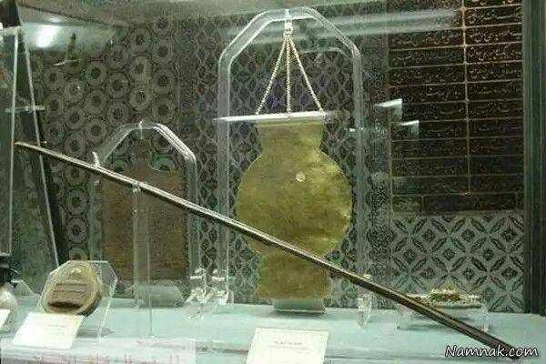 image عکس واقعی از عصای حضرت موسی در موزه ترکیه
