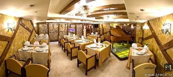 image آدرس و عکس شیک ترین و برترین رستوران های ایران در شهرهای مختلف