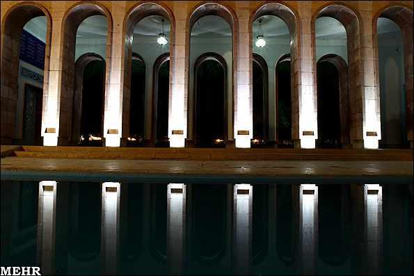 image, تصاویر زیبا از آرامگاه سعدی و نکته های خواندنی درباره آن