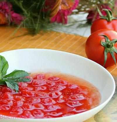 image آموزش درست کردن مربا با گوجه فرنگی