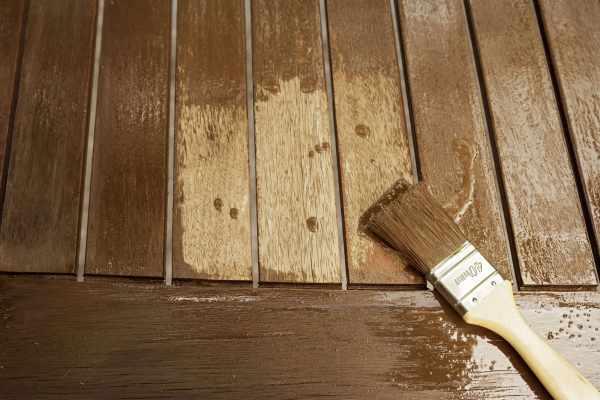 image آموزش رنگ آمیزی چوب با قهوه خوراکی
