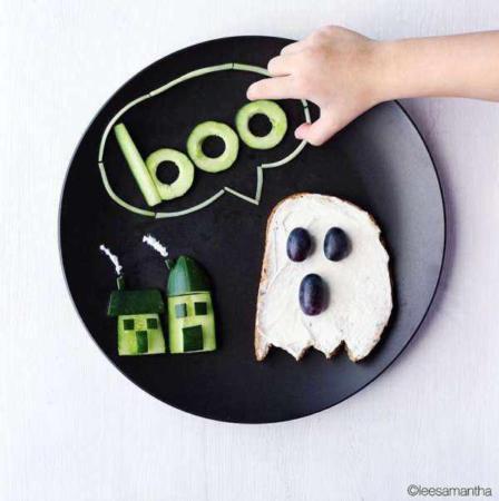 image, ایده های جالب برای تزیین غذای بچه ها با عکس