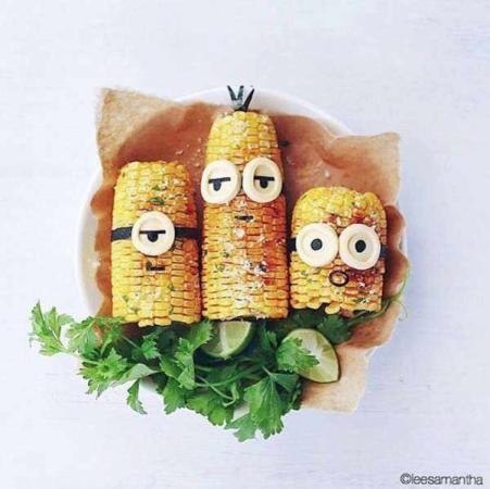 image ایده های جالب برای تزیین غذای بچه ها با عکس