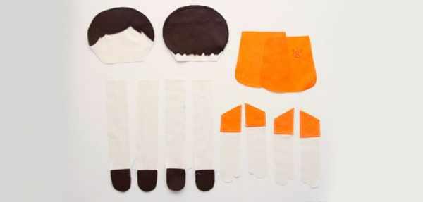 image آموزش دوخت و ساخت عروسک زیبای پارچه ای برای بچه ها