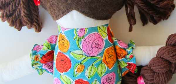 image, آموزش دوخت و ساخت عروسک زیبای پارچه ای برای بچه ها