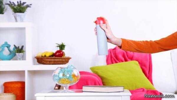 image چطور فضای خانه خود را همیشه خوشبو کنید
