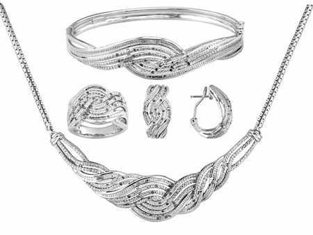 عکس, زیباترین مدل های طراحی شده ست های جواهرات زنانه برای طراحان