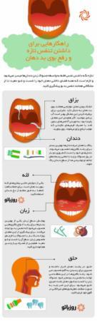 image چطور بوی بد دهان را نابود کنید