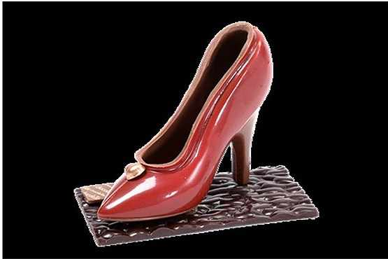 image طراحی خوراکی و کیک های خوشمزه شکل کفش