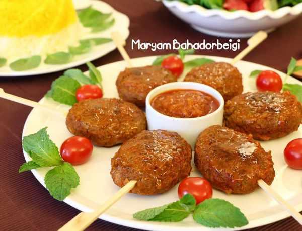 image آموزش مخصوص سرآشپز برای پخت کباب تابه ای مجلسی و شیک