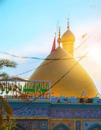 image عکس های زیبا و دیدنی از گنبد حرم امام حسینعلیه السلام