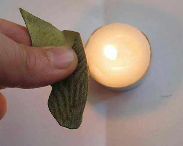 image, آموزش تصویری درست کردن گل رز با روبان