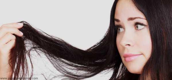 image چطور با موهای چرب خود زیبا به نظر برسید