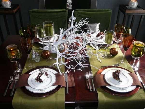 image, مدل های جدید و خلاقانه برای تزیین میز غذاخوری مجلسی