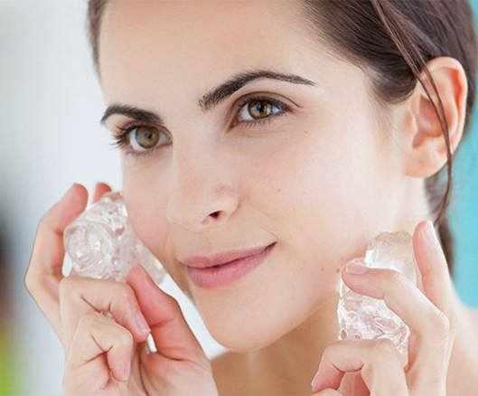 image, چطور با یک قالب یخ ساده خود را زیبا و جذاب کنید