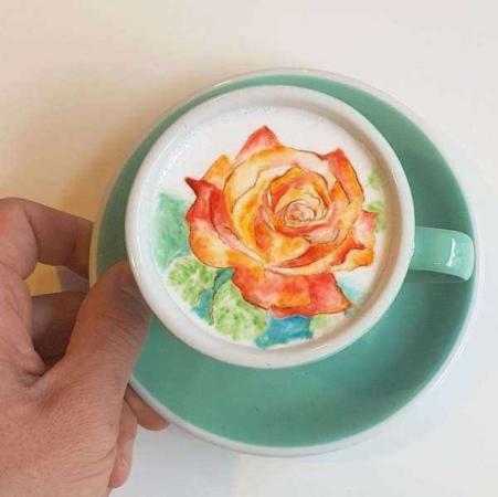 image مدل های بی نظیر تزیین قهوه برای مهمانی و کافی شاپ دار ها