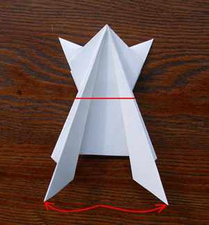 image آموزش ساخت کاردستی قورباغه با یک ورق کاغذی