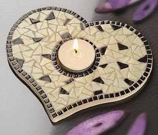image چطور با هنر معرق کاشی شکسته قاب آینه و ظروف را تزیین کنید