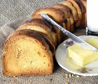 image, آموزش پخت نان سوخاری مخصوص خانگی