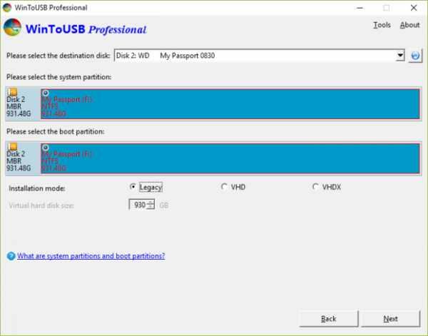 image آموزش تصویری نصب ویندوز روی فلش مموری و هارد اکسترنال