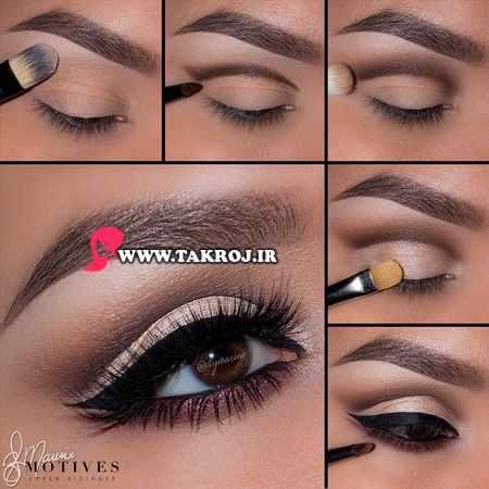 image آموزش مدل های مختلف سایه و آرایش چشم با عکس حرفه ای