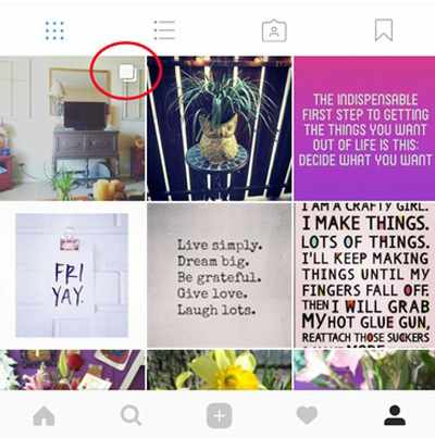 image, آموزش پست چند عکس و فیلم در اینستاگرام به طور همزمان